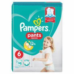 Пелени - гащички Pampers Pants Размер 6 XL 38 бр