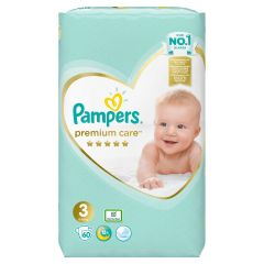 Пелени Pampers Premium Care Размер 3 Mini 60 бр