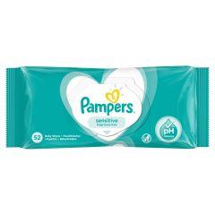 Pampers Sensitive Fragrance Free Бебешки мокри кърпички 52 бр
