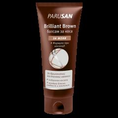 Parusan Brilliant Brown Подхранващ балсам за кестенява коса с подсилващ цвета ефект 150 мл