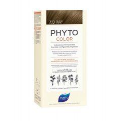 Phyto Phytocolor Безамонячна боя за коса 7.3 Златисто Русо /Blond Dore