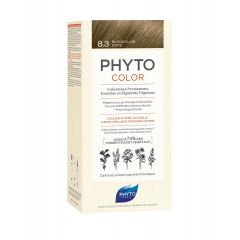 Phyto Phytocolor Безамонячна боя за коса 8.3 Светло Златисто Русо / Blond Clair Dore