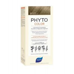 Phyto Phytocolor Безамонячна боя за коса 9 Много Светло Русо / Blond Tres Clair