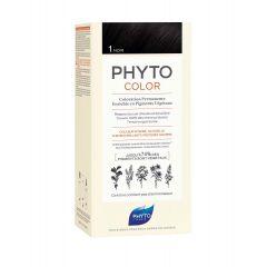 Phyto Phytocolor Безамонячна боя за коса 1 Черен / Noir
