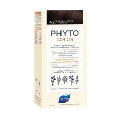 Phyto Phytocolor Безамонячна боя за коса 4.77 Шоколадов Кестен /Chatain Marron Profond