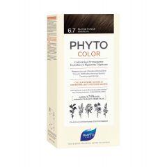 Phyto Phytocolor Безамонячна боя за коса 6.7 Tъмно Шоколадово Русо /Blond Fonce Marron