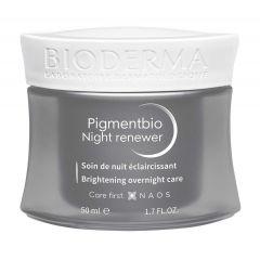 Bioderma Pigmentbio Изсветляващ нощен крем за лице против пигментации 50 мл