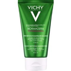 Vichy Normaderm Phytosolution Вулканичен матиращ и почистващ крем 125 мл