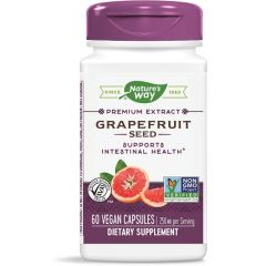 Nature's Way Grapefruit Seed Семена от грейпфрут за силен имунитет и антиоксидантна защита 250 мг х60 V капсули