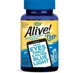 Nature's Way Alive Teen Complete For Him Алайв мултивитамини за момчета х50 желирани таблетки