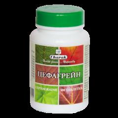 Hymalaya Charak Cephagraine Цефагрейн - При синузит и мигрена х 100 таблетки