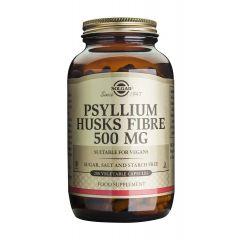 Solgar Psyllium Husks Fibre Псилиум хуск фибри за добро храносмилане 500 мг x200 капсули