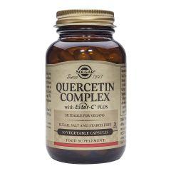 Solgar Quercetin Complex Кверцетин комплекс при алергии x50 капсули