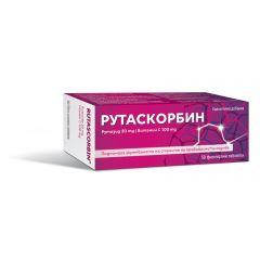 Рутаскорбин за здрави кръвоносни съдове х50 таблетки Actavis