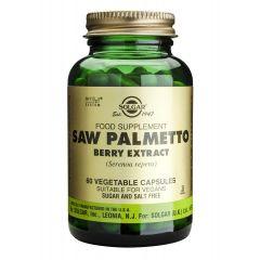 Solgar Saw Palmetto Berry Extract Сао Палмето екстракт при проблеми с простата x60 капсули