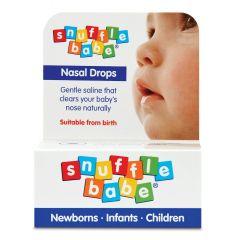 Snufflebabe Nasal Drops Капки за нос с физиологичен разтвор х10 мл