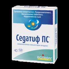 Boiron Седатиф ПС при тревожна напрегнатост, раздразнителност, нарушения на съня х40 таблетки