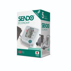 Полуaвтоматичен aпарат за измерване на кръвно налягане Sendo Economy