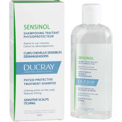 Ducray Sensinol Физиотерапевтичен шампоан за чувствителен скалп 200 мл