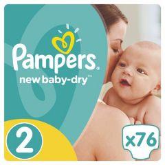 Пелени Pampers Active Baby Размер 2 Mini 76 бр