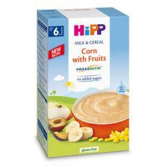 Hipp пребиотик инстантна каша царевица с плодове 6М+ 250 гр
