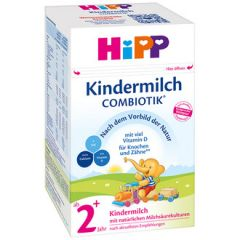 Hipp Kindermilch Combiotic 2+ мляко за малки деца 24М+ 600 гр