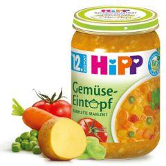 Hipp био пюре зеленчукова яхния 12М+ 250 гр