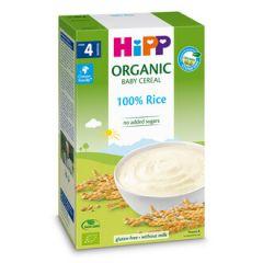 Hipp био инстантна каша ориз за бебета 4М+ 200 гр