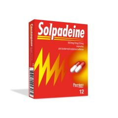 Солпадеин при висока температура и болка x12 капсули Omega Pharma