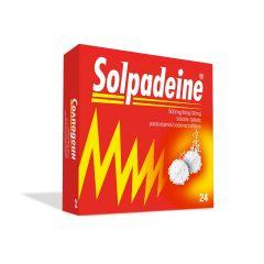 Солпадеин при висока температура и болка x24 ефервесцентни таблетки Omega Pharma