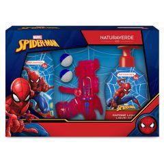 Naturaverde Kids Marvel Spiderman Комплект Марвел Спайдърмен за момчета с пистолет с топчета