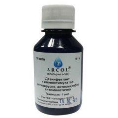 Arcol Сребърна вода 10мг/ л х100 мл Екомет