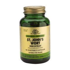 Solgar ST. John's Wort Herb Extract Жълт Кантарион екстракт при депресия и безсъние 175 мг х60 капсули