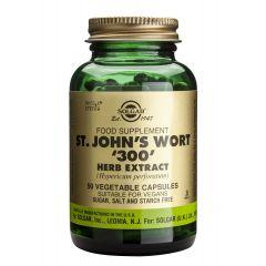 Solgar ST. John's Wort Herb Extract Жълт Кантарион екстракт при депресия и безсъние 300 мг х60 капсули
