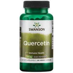 Swanson Quercetin Кверцетин 475 мг х60 капсули