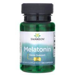 Swanson Melatonin Мелатонин 3 мг х120 капсули