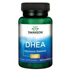 Swanson DHEA Дехидроепиандростерон 25 мг х 120 капсули