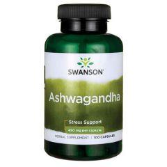 Swanson Ashwagandha Ашваганда 450 мг х 100 капсули
