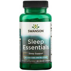 Swanson Sleep Essential Формула за сън х 60 капсули
