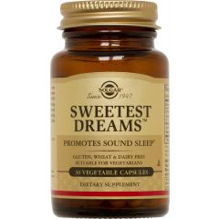 Solgar Sweetest Dreams Сладки сънища при безсъние х30 таблетки