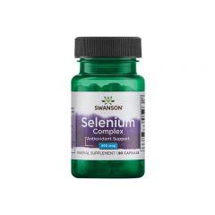 Swanson Selenium Complex Селен комплекс 200 мкг х 90 капсули