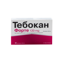 NaturProdukt Тебокан Форте за памет и концентрация 120 мг х30 таблетки