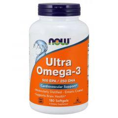 Now Foods Ultra Omega-3 Ултра Омега-3 Рибено масло х 180 дражета