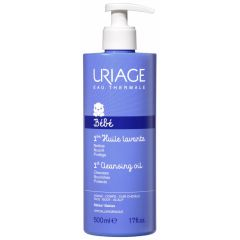 Uriage Bebe 1er Huile Lavante Измиващо и защитно гел-олио за бебета и деца 500 мл