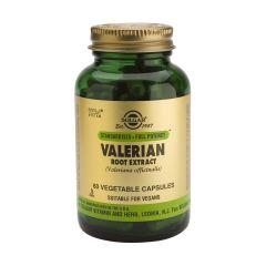 Solgar Valerian Root Extract Валериана корен екстракт с успокояващо действие х60 капсули