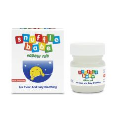Snufflebabe Vapor Rub Балсам при запушен нос за деца над 3 месеца 24 гр