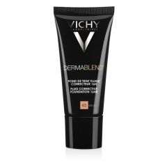 VichyDermablend Коригиращ фон дьо тен флуид за нормална до смесена кожа 45 златист SPF35 30 мл