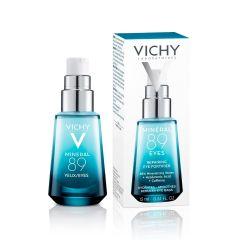 Vichy Mineral 89 Укрепващ и хидратиращ крем за околоочен контур 15 мл