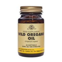 Solgar Wild Oregano Oil Масло от риган при храносмилателни проблеми x60 капсули